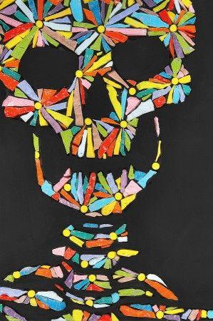 Luca Barberini Bone Flowers 2001 Detail