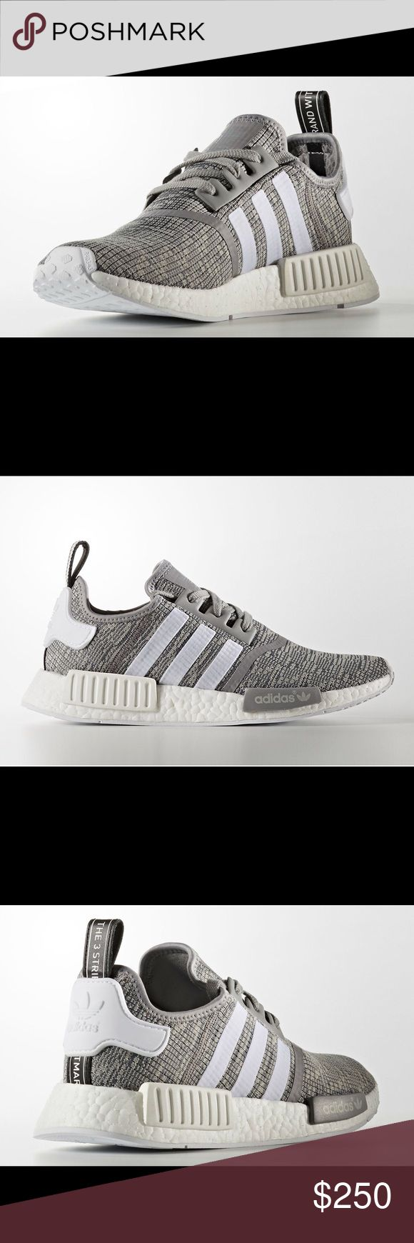 Adidas Originals NMD R1 Marled Grey Sz 9 BB2886 Up for sale is a brand new, never worn, new in box, pair of   Adidas Originals NMD_R1  Mens Sneakers  Color: Solid Grey / Running White (BB2886)   US Size 9   100% authentic, purchases directly from store   Will combine shipping on multiple items. Can ship from Canada or USA. Adidas Shoes Sneakers