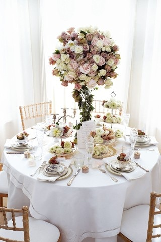 Afternoon tea/Vintage weddings
