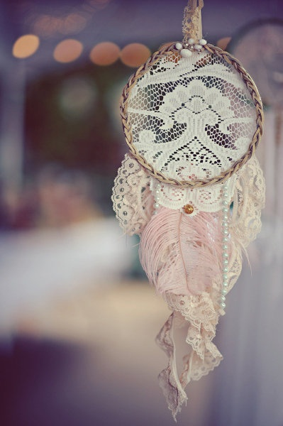 LACE DREAM CATCHER!!! - Vancouver Island Wedding at Dolphin Resort from Erin Wallis