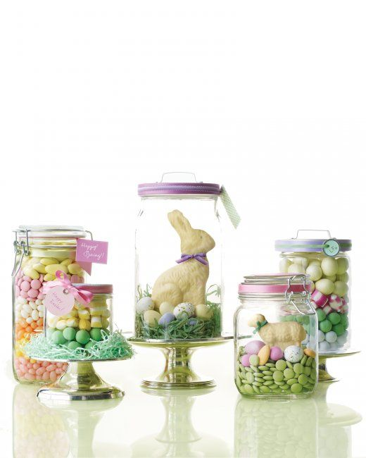 Easter Candy Parade Jars