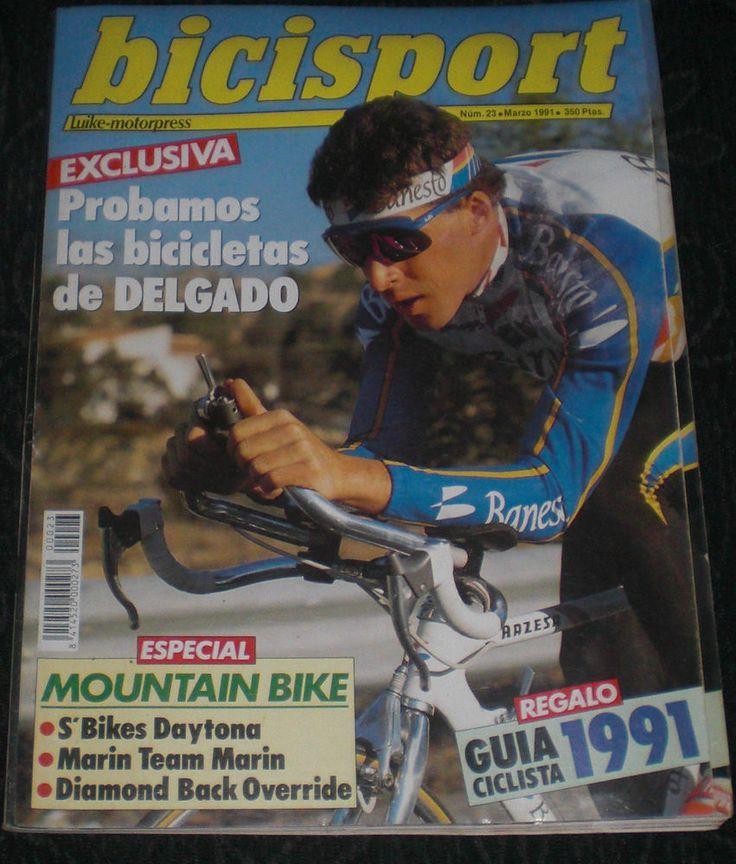 Revista Ciclismo Bicisport N 23 Marzo 1991 Exclusiva Delgado Poster Ned Overend