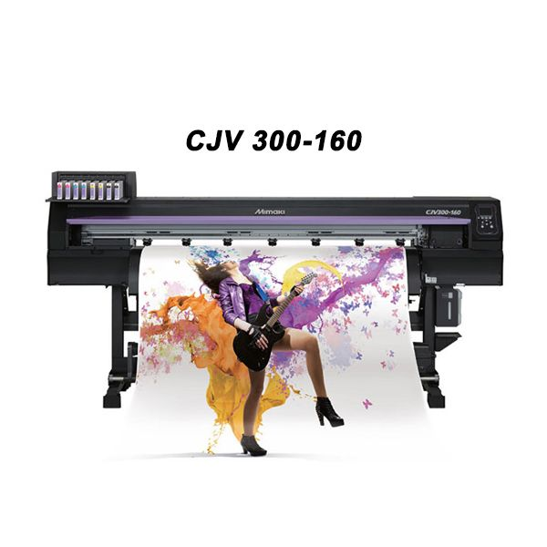 Mimaki Cjv300 Series Wide Format Eco Solvent Printer Cutter