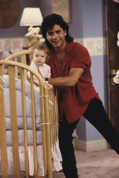 Jesse and Michelle ~ Full House Full House ~ Episode Stills ~ Season 1, Episode 1: Our Very First Night