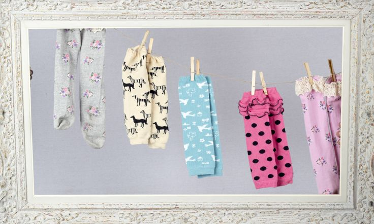 Cute legwarmers found at teablossomkids.com