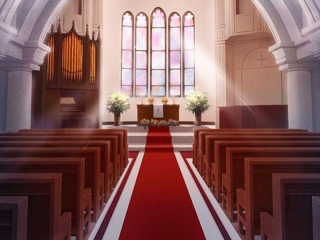 Anime Landscape Church Фоновые изображения Episode