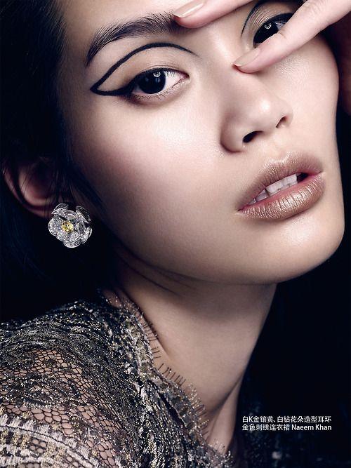Ming Xi by David Slijper for Vogue China September 2013.