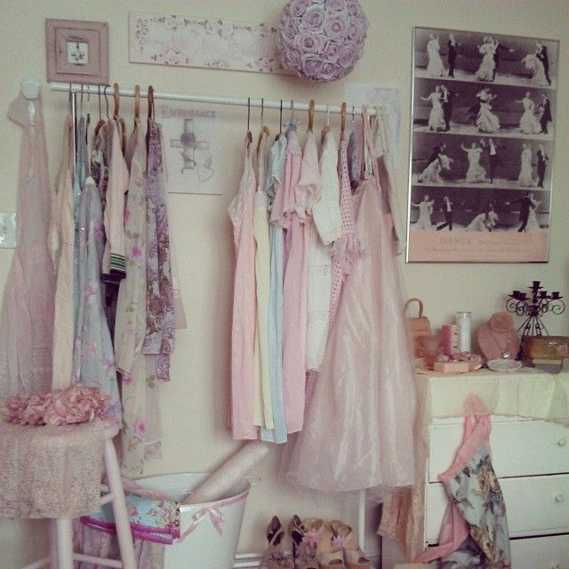 Dressing are in my boudoir rvh my instagram romantic for Shabby chic instagram