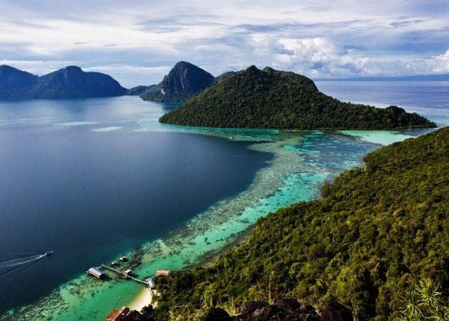 Borneo,  Indonezja, Malezja, Brunei