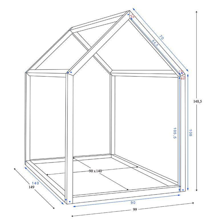 Les 25 meilleures id es de la cat gorie construire un lit sur pinterest lit - Construire un lit cabane soi meme ...