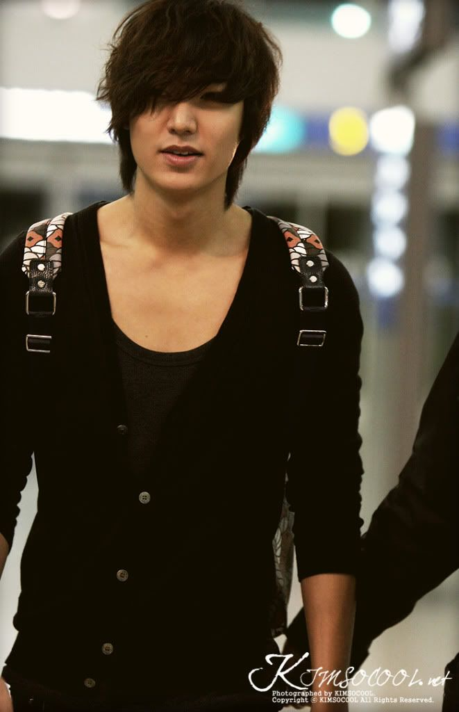 Airport Fashion: The Lee Min Ho Modelicious Edition