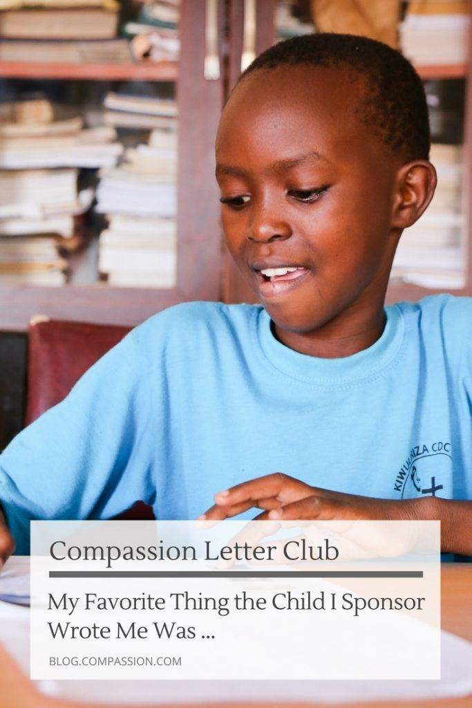 We asked on Facebook and Instagram how the child you sponsor has encouraged you in letters... and we loved your responses. Receiving a Compassion Letter means so much to the child you invest in - and we know you love when they write those treasured words back! We hope these inspire you to keep writing! #compassionletter