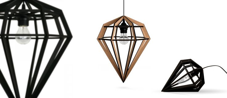 DAILY DESIGN: Lampa diament od Tvafota Design