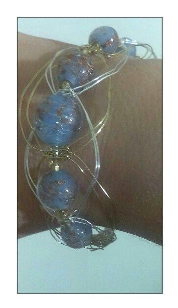 My creation wire macramé