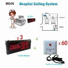 [ $61 OFF ] Wireless Calling System Patient Emergency Push Call Button Nurse Medical Equipment Home Calling System