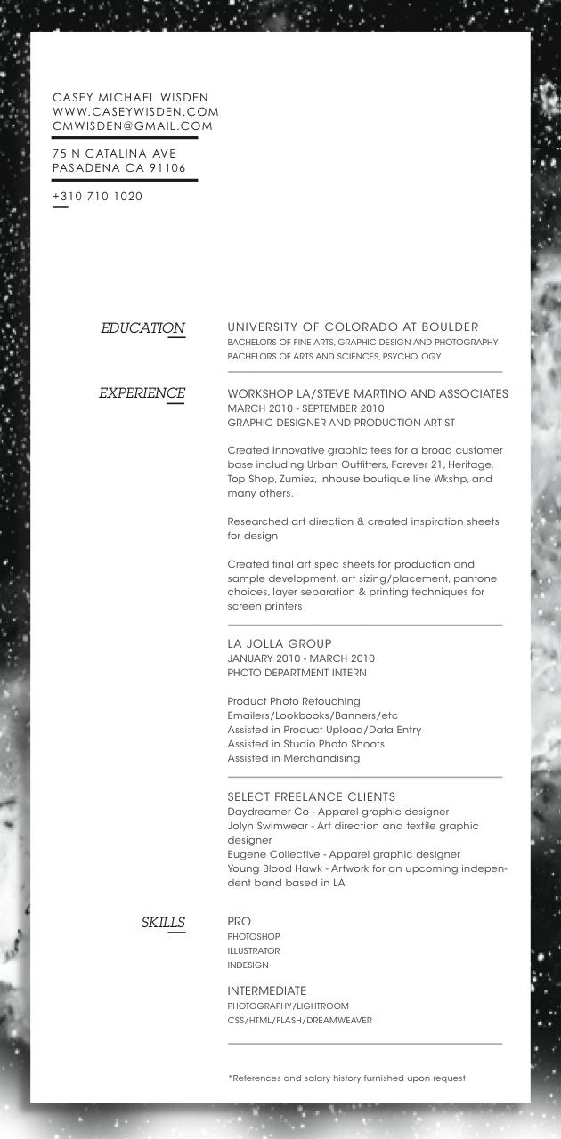 17 best ideas about artist resume cv design casey wisden artist designer resume