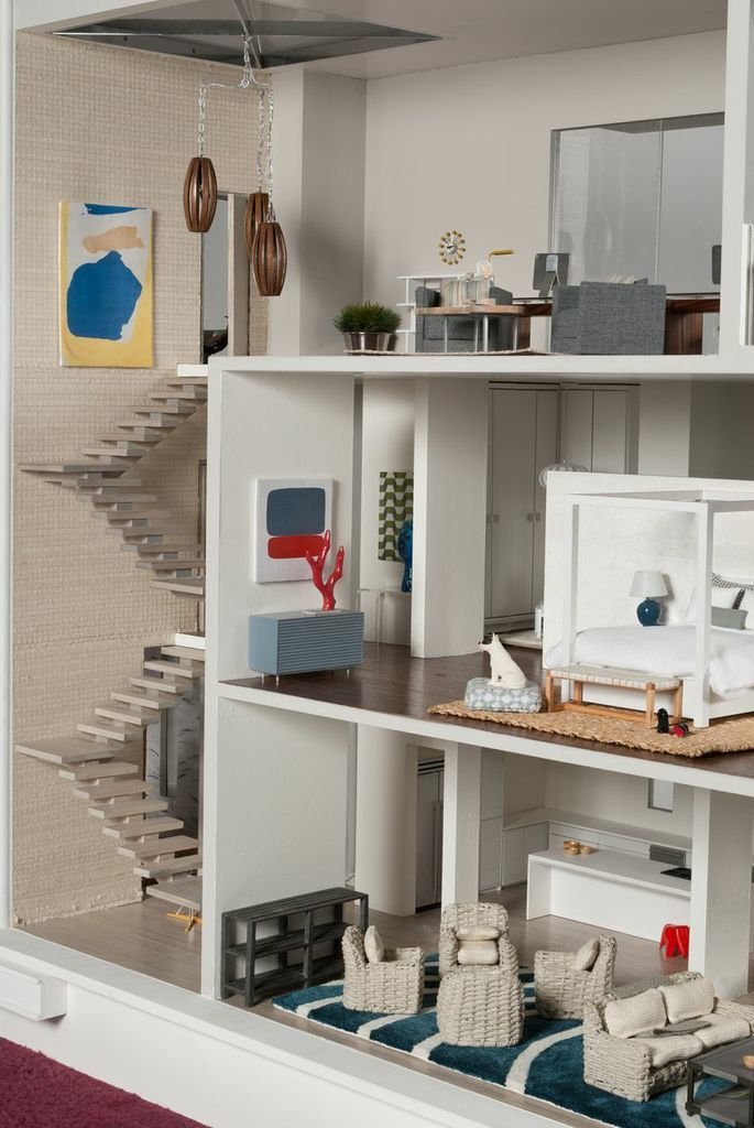 1:6 scale DIY barbie doll house - Google Search