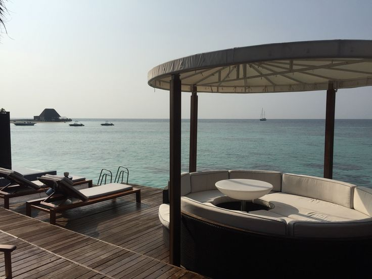 Lagoon bungalow at the W Maldives! Favourite holiday!