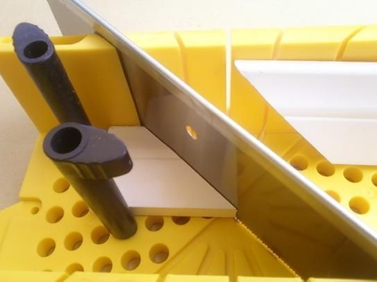 Stanley Deluxe Miter Box with Saw 20-600D at The Home Depot - $14.98