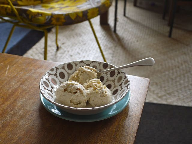 Hungry and Frozen:Feijoa ice cream  no icecream maker required