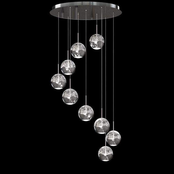 LED pendant light fixture  Great room