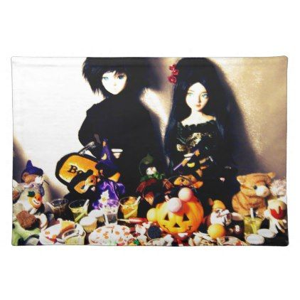 old halloween photo placemat - Halloween happyhalloween festival party holiday