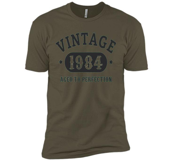 33 years old 33rd Birthday B-day Gift 1984 T-Shirt