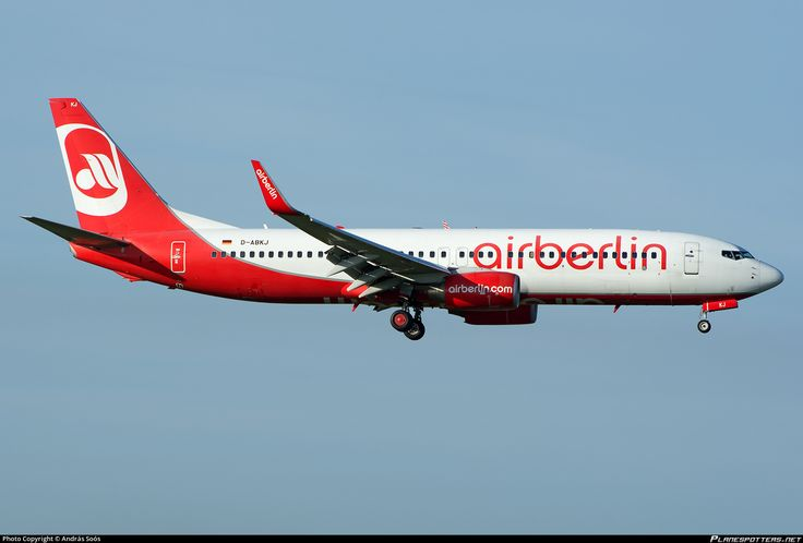 D-ABKJ Air Berlin Boeing 737-86J(WL)