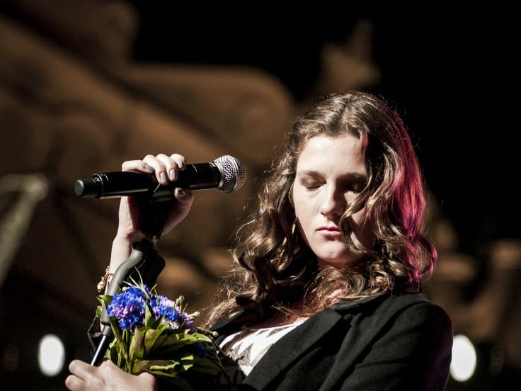 Klaudia Borczyk, I miejsce w grupie powyżej 16 lat, 2012r., #mimowszystko #kraków #muzyka #festiwal fot. Diamonds Factory