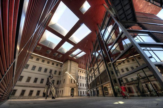 Museum of Contemporary Art Reina Sofia. Free Monday, Wednesday-Saturday 7-9PM and Sunday 3-7PM.
