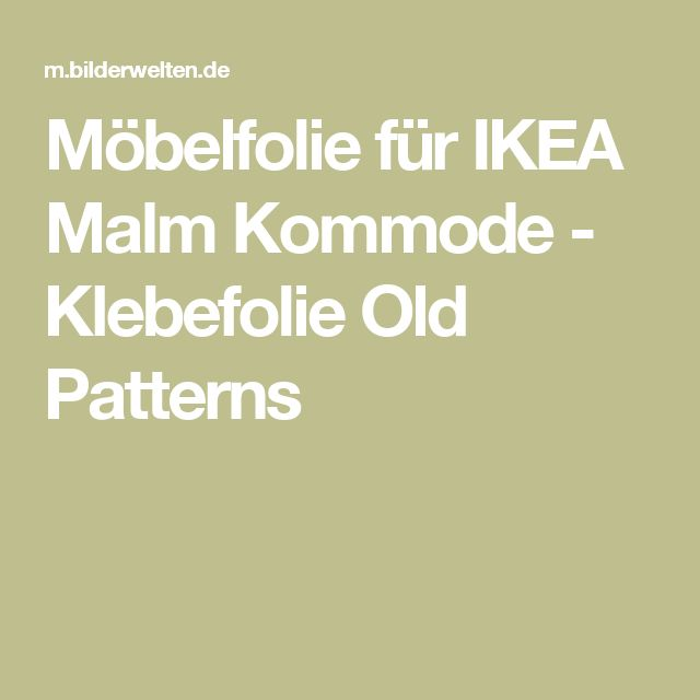 Best 20 ikea malm ideas on pinterest malm ikea malm for Malm kommode weiay