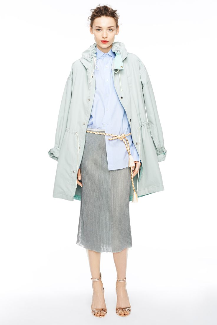 Have you tried the half-tuck yet? J.Crew women's spring/summer 2015 collection. #NYFW15