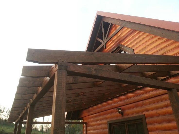 Zadaszenie tarasu drewnianego