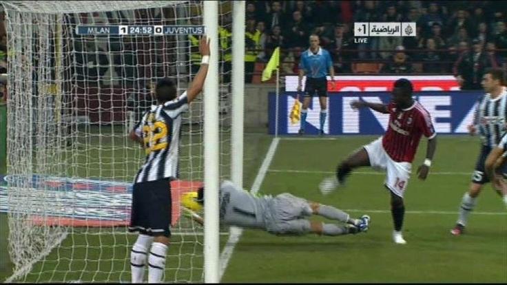 Incredible mistake! #MilanJuve