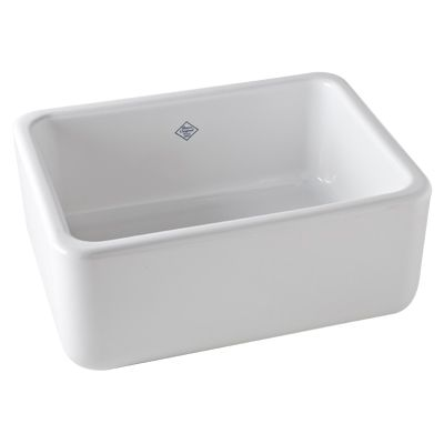 ROHL KITCHEN – Steep in the Quality SHAWS ORIGINAL SINGLE BOWL FIRECLAY APRON FRONT KITCHEN SINK RC2418