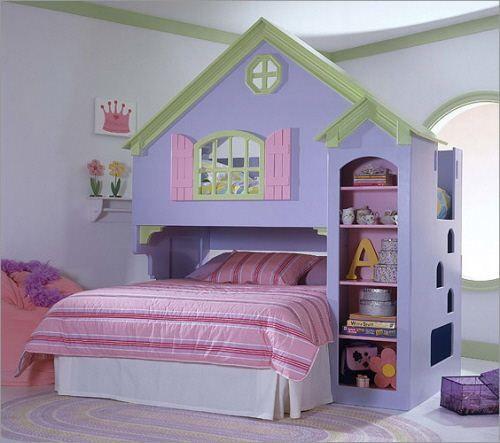 Детская спальня Замок, заказать из натурального дерева недорого, Киев - Бровары, цена сайта