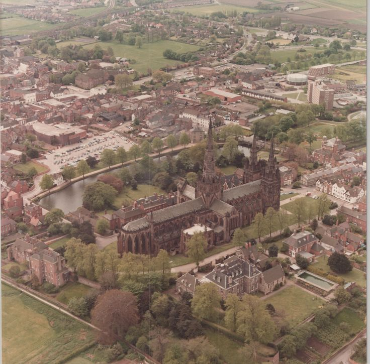 Lichfield Cathedral (C) Lichfield District Council - 1992