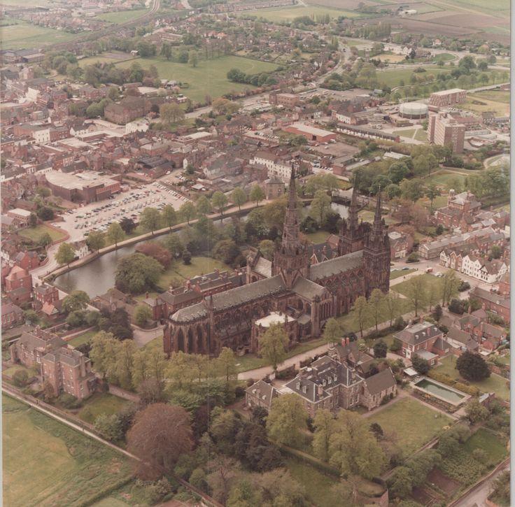 Lichfield Cathedral (C) Lichfield District Council - 1992