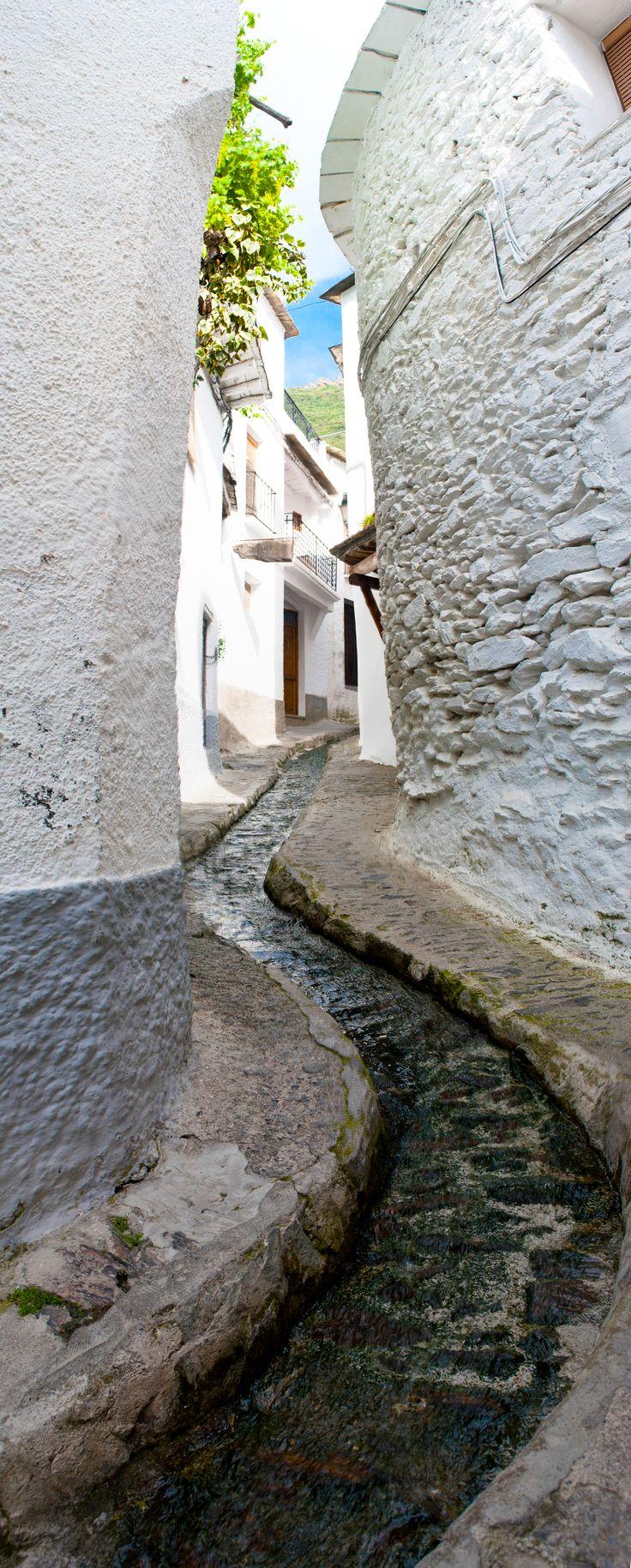 Acequias de Pampaneira,  es una localidad y municipio español perteneciente a la provincia de Granada, comunidad autónoma de Andalucía. Está situado en pleno barranco de Poqueira, en la parte centro-occidental de la Alpujarra Granadina, a unos 66 km de la capital provincial.. Limita con los municipios de Bubión, Capileira, La Taha, Órgiva, Carataunas y Soportújar.. Gran parte de su término municipal pertenece al *Parque Nacional de Sierra Nevada y al Conjunto Histórico del Barranco de…