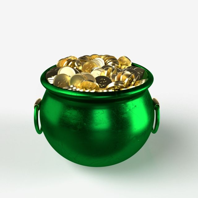 Green Pot Full Of Gold Coins On A Transparent Background St Patrick S Day Economics Economic Commercial Png Transparent Clipart Image And Psd File For Free D In 2021 Gold Coins