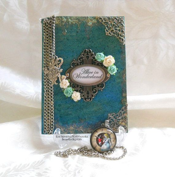Enchanted Notebooks with Charmed Bookmark  by Beauladigitals