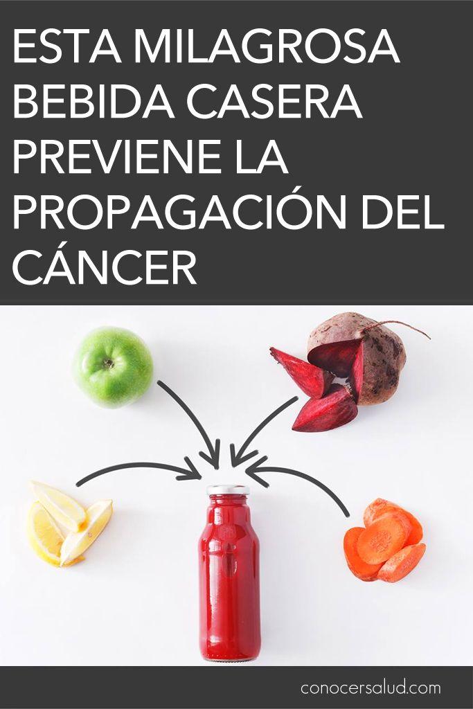 Esta milagrosa bebida casera previene la propagación del cáncer #salud