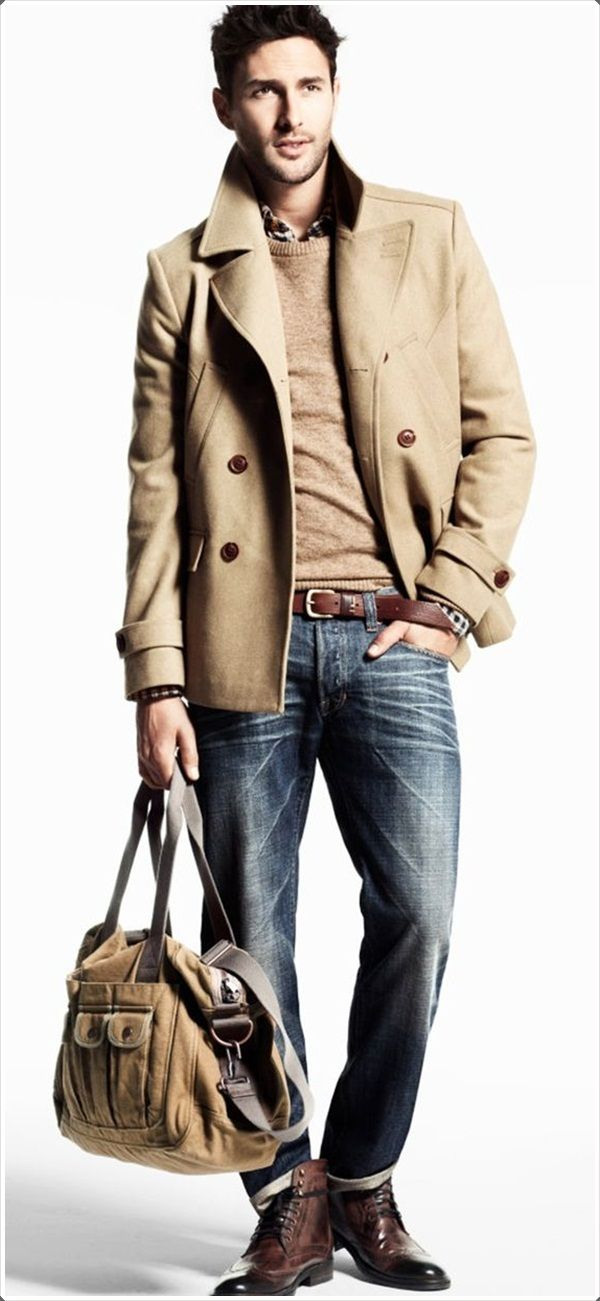 Planning your business trip? Don't forget the pea coat.