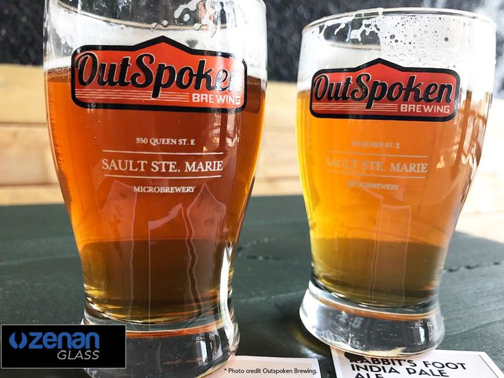 Feature: OutSpoken Brewing   A small brewery with a big voice in Sault Ste. Marie, ON.  On Tap: Split Shot Extra Pale Ale, Rabbit's Foot IPA, Anvil Red Ale, DEADFALL, Longhaul, CATTLE RUN..  Glassware by Zenan Glass www.zenan.ca  https://www.facebook.com/outspoken.brewing