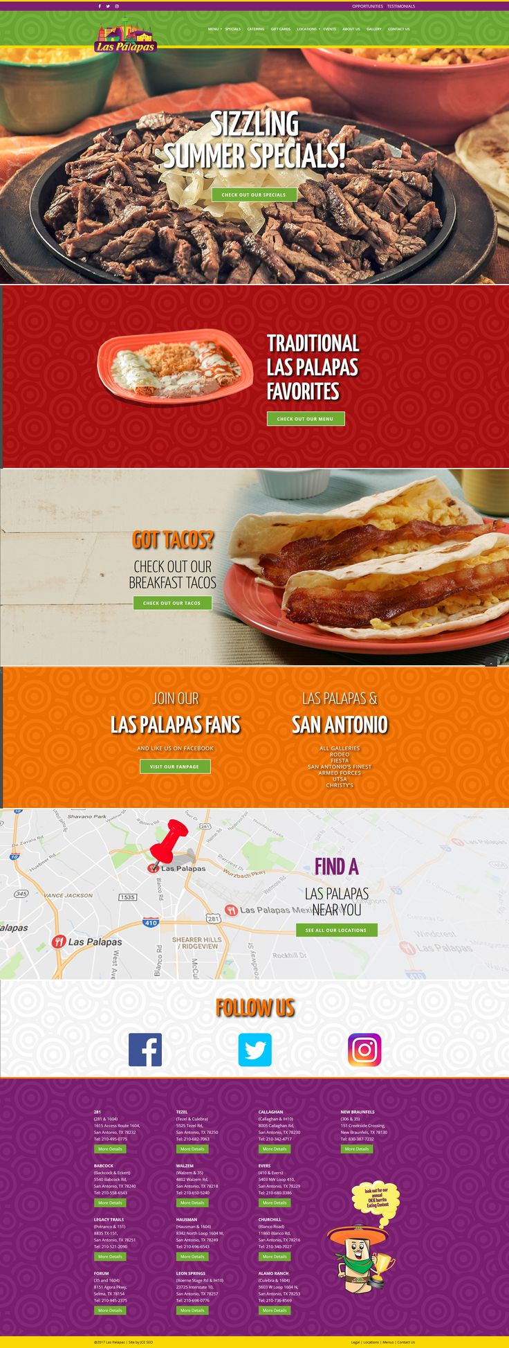 Putting the finishing touches on the new website for the good folks at Las Palapas #websitedesign #jceseo #laspalapas