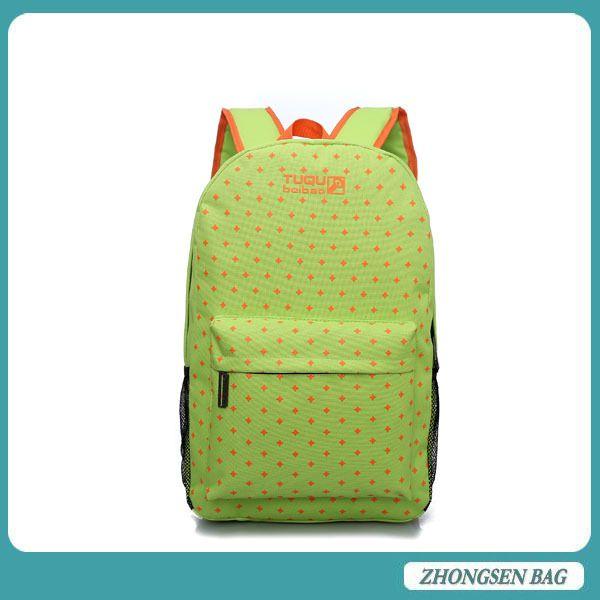 2015 fashion school backpack for girl/boy woman/man