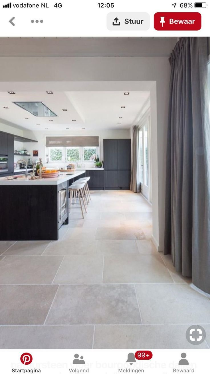 59 High Level Inspiration For Kitchen Flooring Ideas We Almost Everyday In The Kitchen For That Rea Kitchen Flooring French Limestone Floor House Flooring