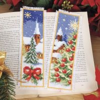 Winter Village Bookmarks