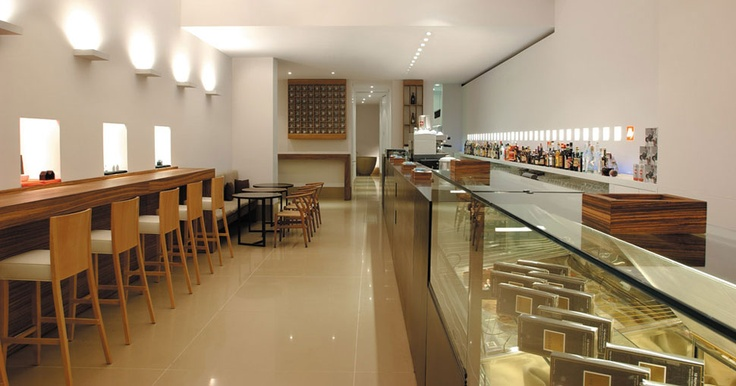 Illy Design Bar, Trieste, Italy #Rossato project