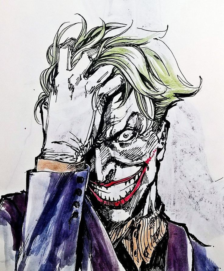 sketch joker by dikeruan on DeviantArt
